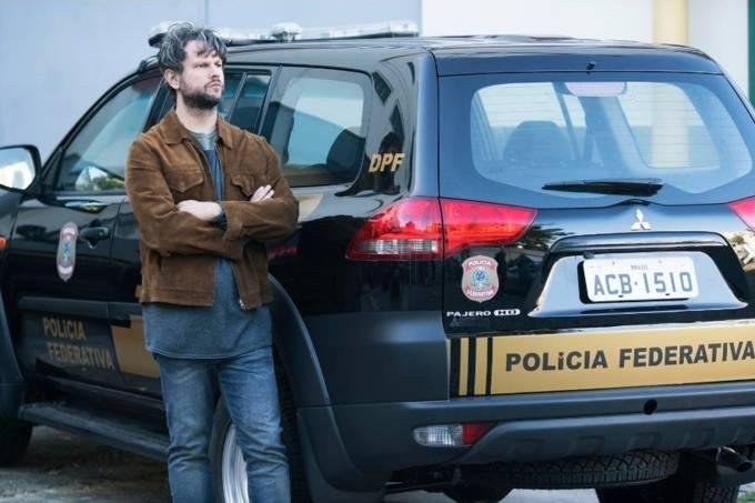 O ator Selton Mello na série 'O Mecanismo'