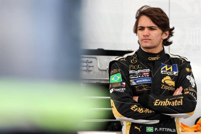 Pietro Fittipaldi fez testes na Indy no circuito e Seabring (EUA)