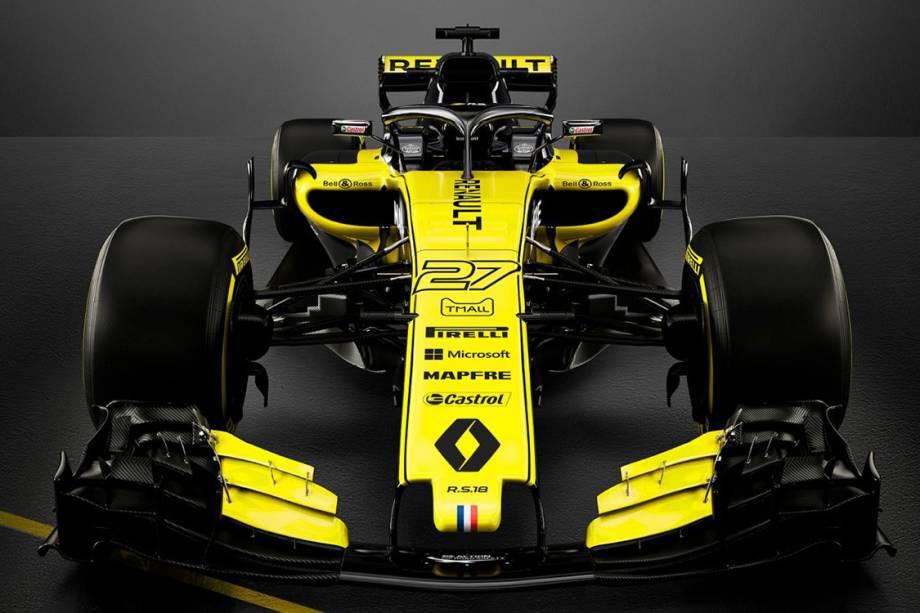 Renault divulga o R.S18, novo carro para a temporada 2018 da Fórmula 1