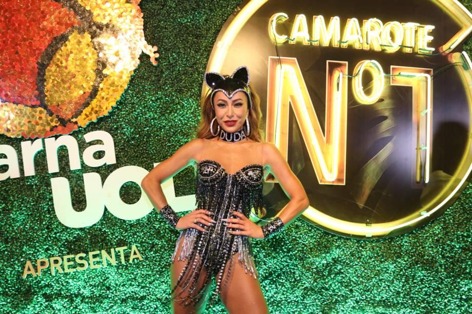 Sabrina Sato chega no Camarote Nº1 para curtir o carnaval na Sapucaí - 12/02/2018
