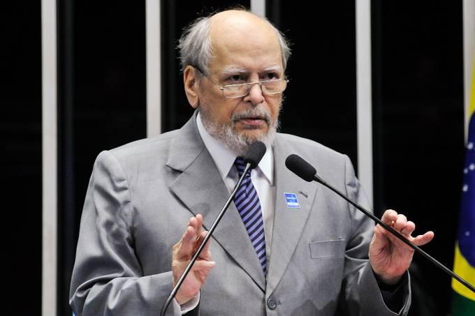 Sepúlveda Pertence, presidente do Supremo Tribunal Federal nos anos 1995 a 1997