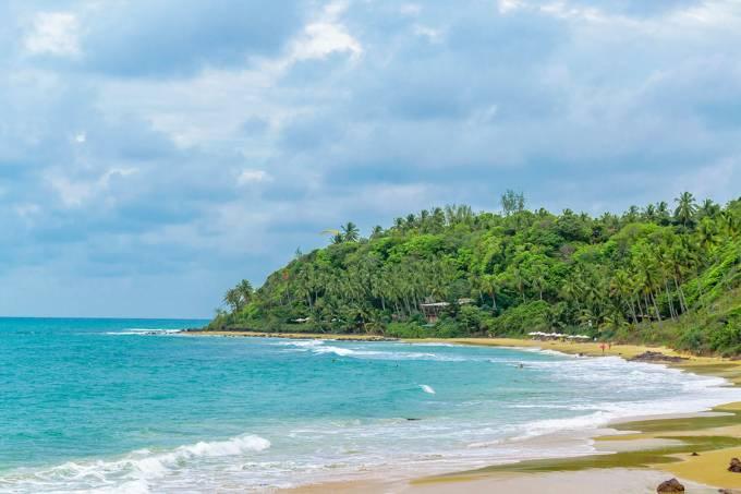 Praia de Tibau Do Sul, no Rio Grande do Norte