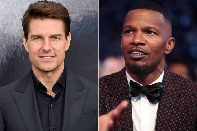 Tom Cruise e Jamie Foxx
