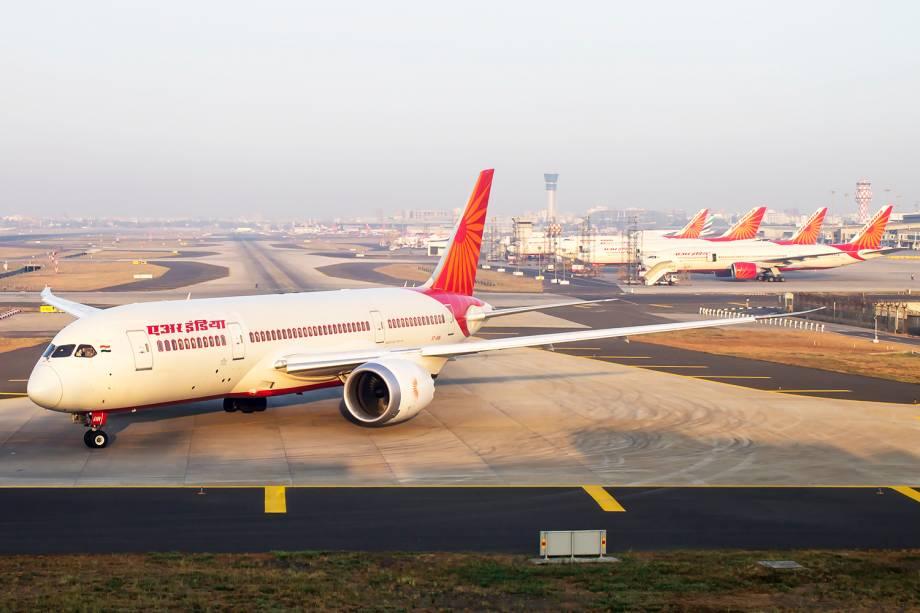 Avião 787 Dreamliner da companhia aérea Air India