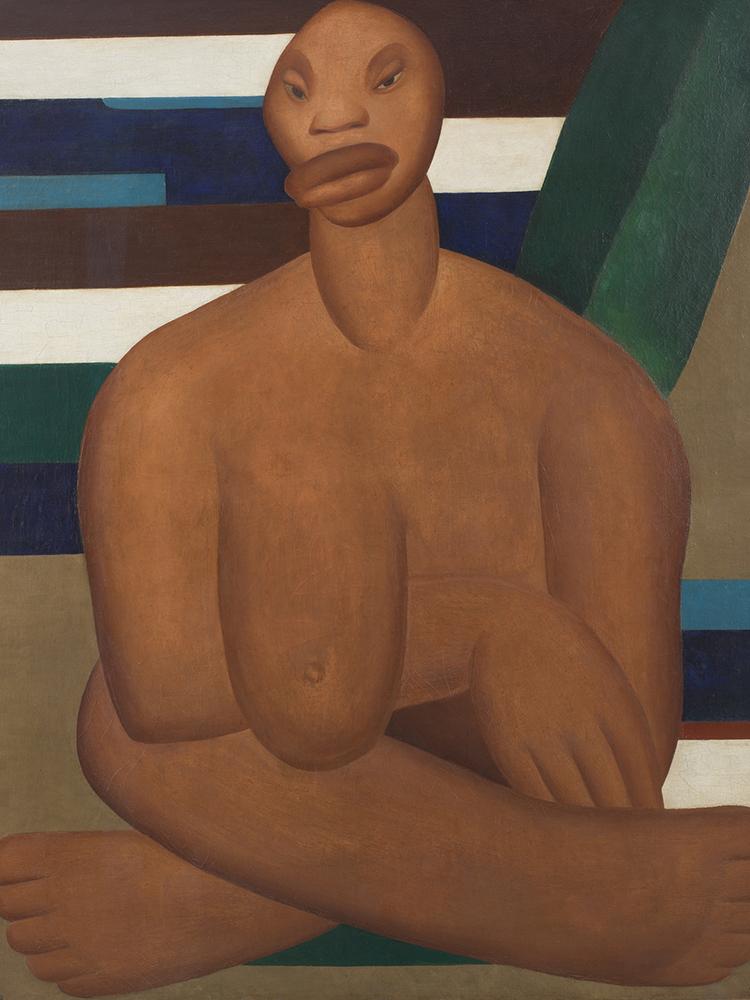 'A Negra', de Tarsila do Amaral (1923)