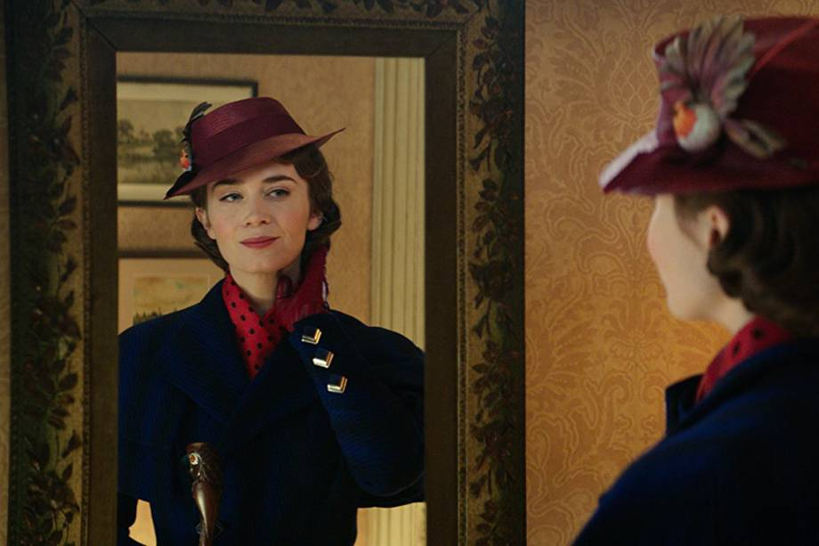 Emily Blunt interpreta a babá mágica em 'A Volta de Mary Poppins'