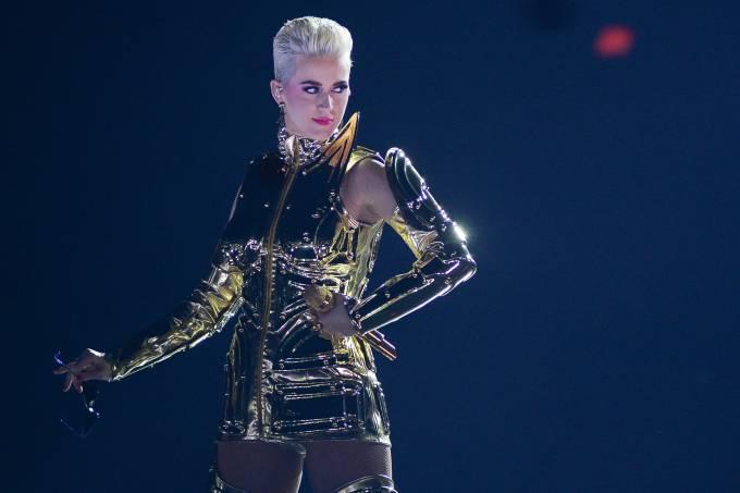 Show da cantora Katy Perry no Allianz Parque, em São Paulo