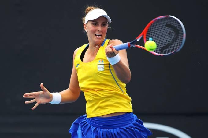 A tenista Bia Haddad