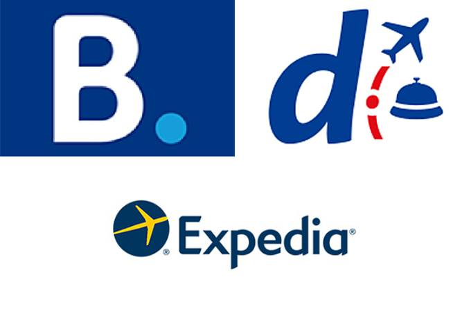 Booking.com, Decolar e Expedia