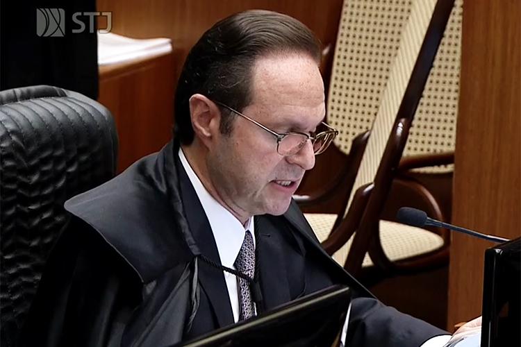 O ministro do Supremo Tribunal de Justiça (STJ), Joel Ilan Paciornik, durante sessão de julgamento do pedido de habeas corpus do ex-presidente Lula - 06/03/2018