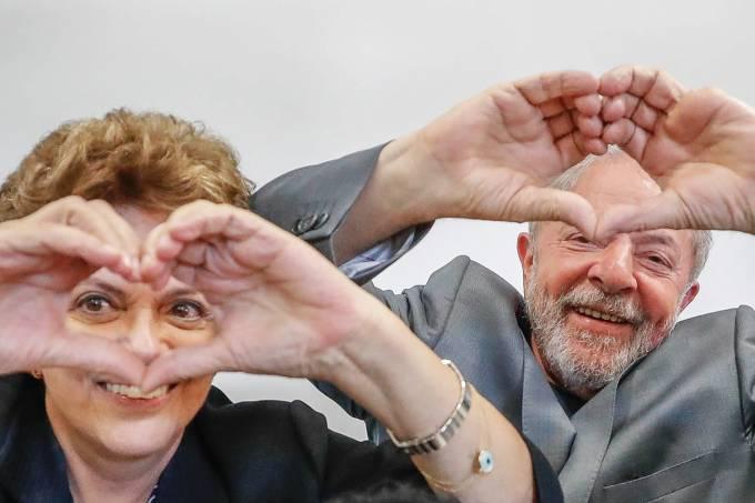 Lula e Dilma Rousseff visitam Santa Maria (RS)