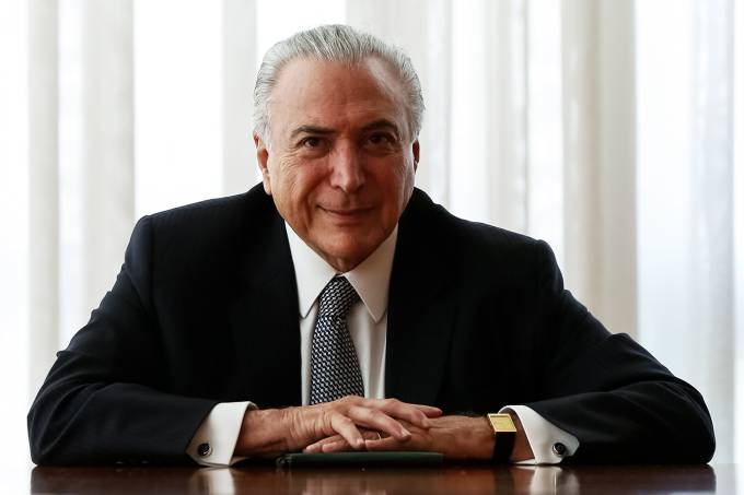O presidente da República, Michel Temer