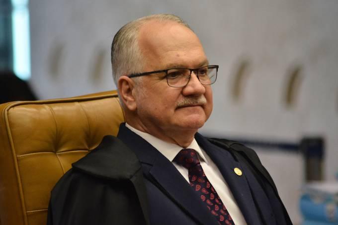 O ministro Edson Fachin