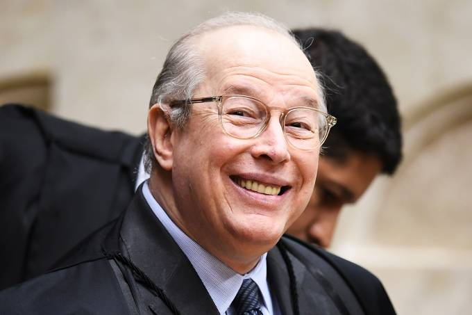 O ministro do STF, Celso de Mello