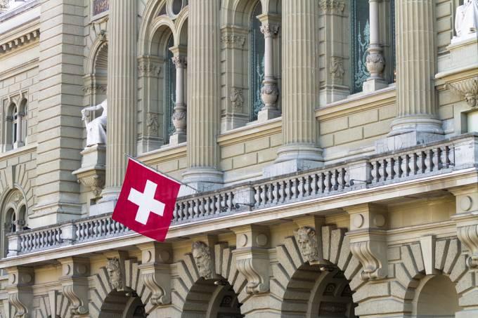 Palácio Federal da Suíça, sede do governo suíço, em Berna