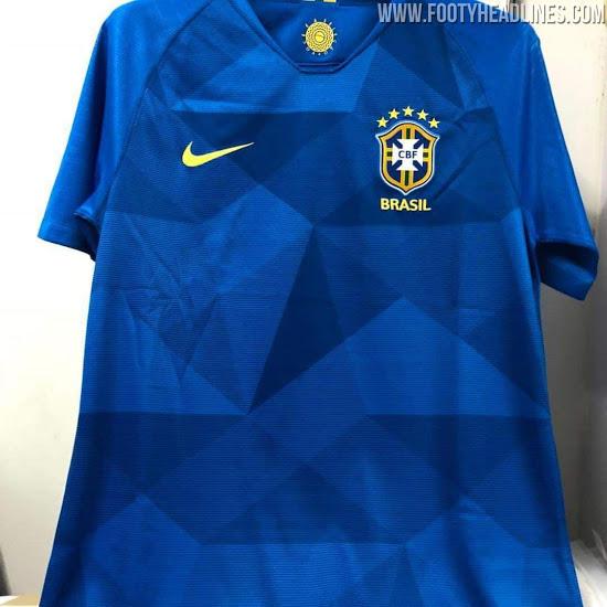 """Seleção terá camisa azul """"estrelada"""" na Copa de 2018"""