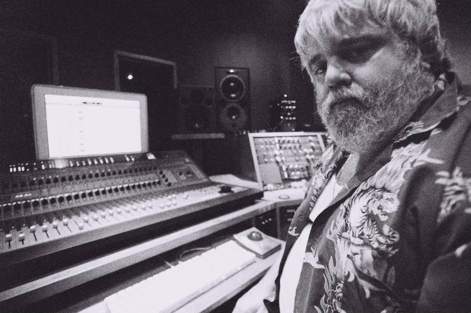 Carlos Eduardo Miranda, produtor, em gravação do clipe Uma Canção é Para Isso, da Banda Skank, no Estúdio Máquina - 06/12/2006