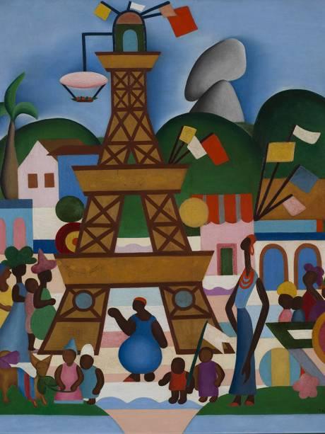 'Carnaval em Madureira', de Tarsila do Amaral (1924)