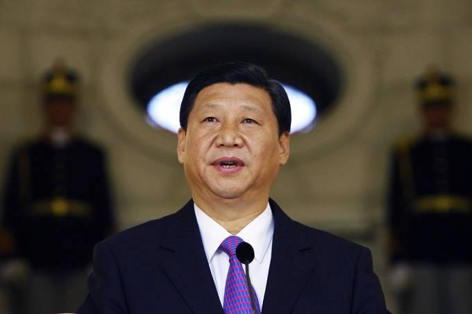 O presidente da China, Xi Jinping
