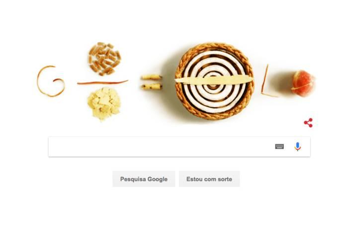 Doodle homenageia o Dia do Pi