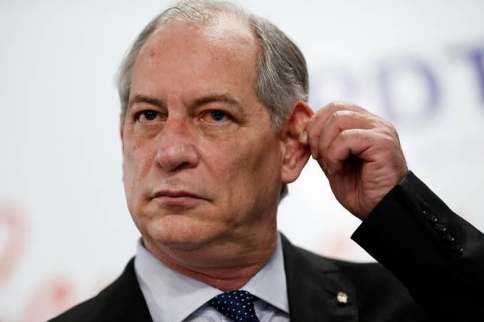 O pré-candidato à Presidência pelo PDT Ciro Gomes