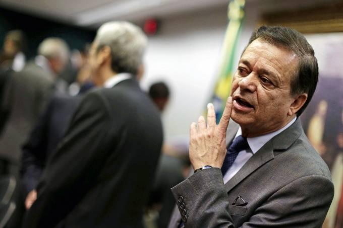 """No STF – O deputado Jovair Arantes, líder do PTB: lobistas dizem que ele ficaria com """"uma ponta"""" do dinheiro"""