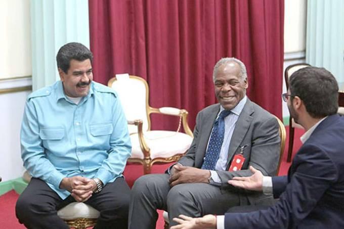 Danny Glover e Maduro