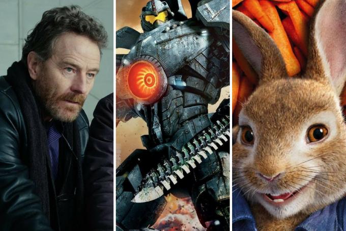 Cenas dos filmes 'A Melhor Escolha', 'Círculo de Fogo: A Revolta' e 'Pedro Coelho'