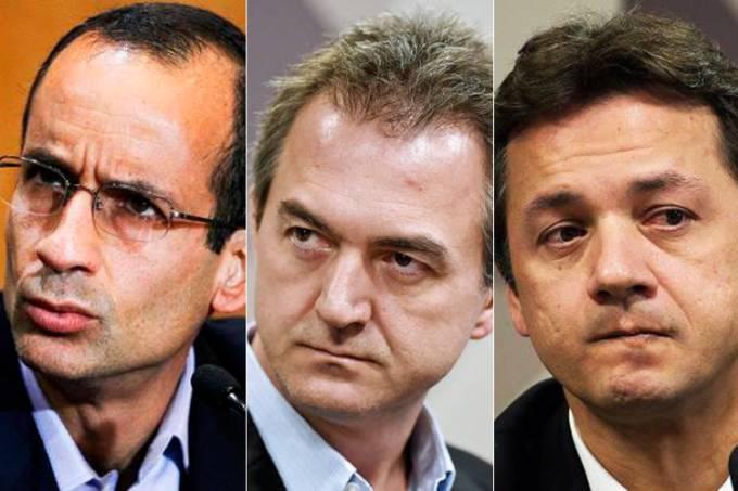 Marcelo Odebrecht, Joesley Batista e Wesley Batista
