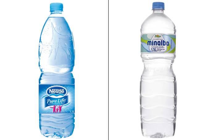 Água Nestle e Minalba