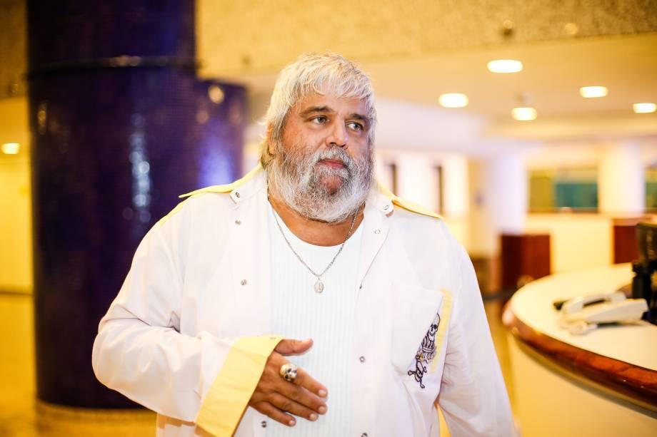 O produtor musical Carlos Eduardo Miranda na cerimônia de entrega do Prêmio Bravo! Prime de Cultura, no Sesc Pinheiros em São Paulo - 29/03/2017