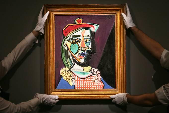 Obra de Picasso que mostra sua amante é leiloada