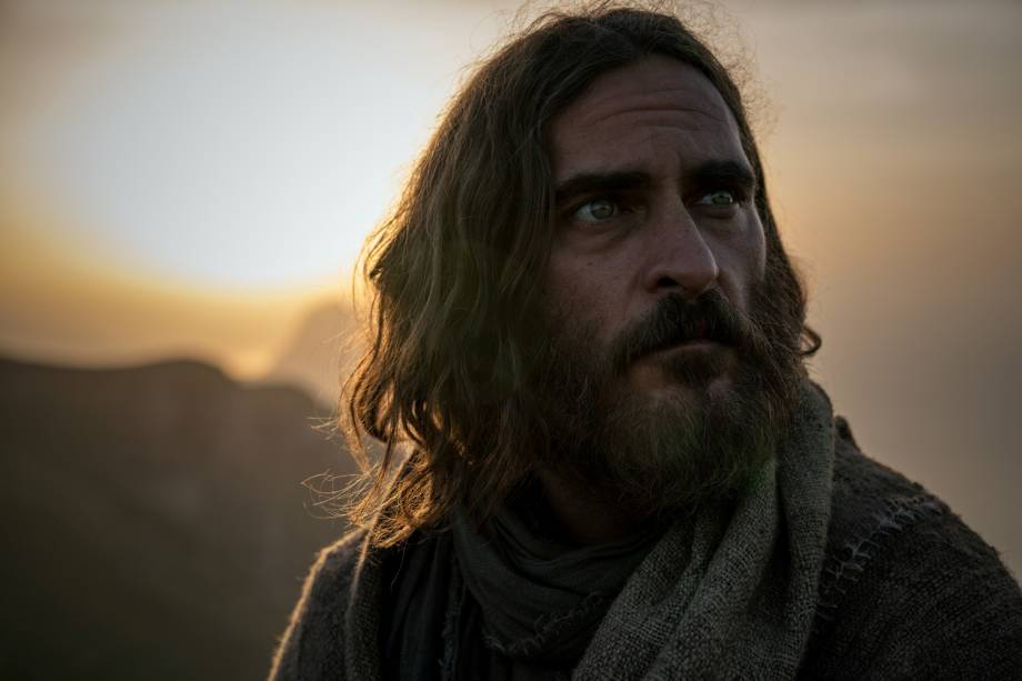 Jesus (Joaquin Phoenix), em cena do filme 'Maria Madalena'
