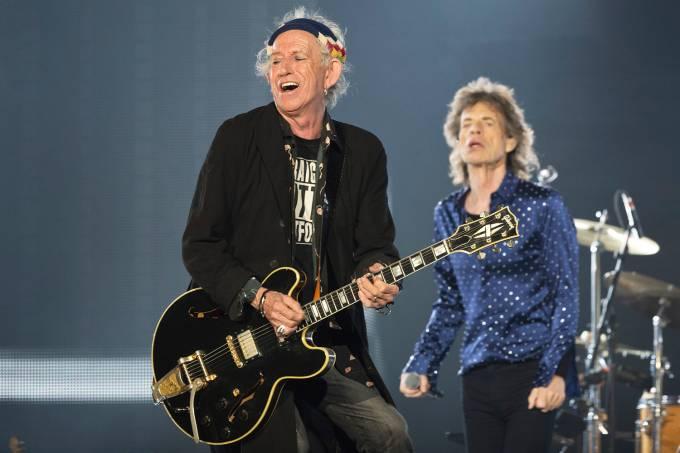 Keith Ricards e Mick Jagger
