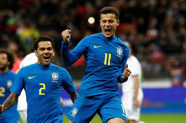 Amistoso Brasil vs Russia