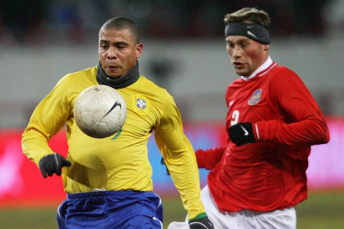 Ronaldo – Brasil x Rússia – 2006