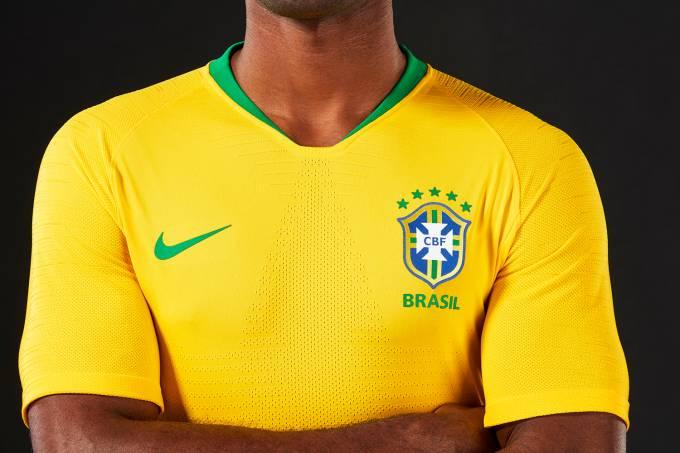 Novo uniforme da Seleção Brasileira é divulgado pela CBF