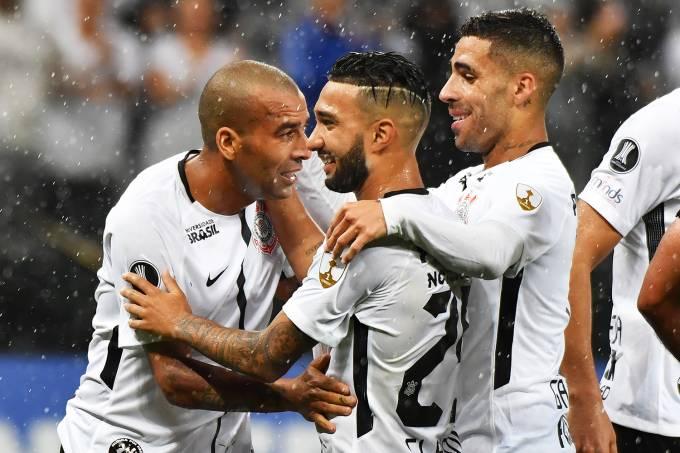 Libertadores: Corinthians x Deportivo Lara – Emerson Sheik