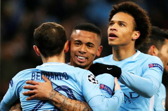 Manchester City x Basel – Gabriel Jesus