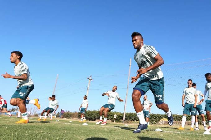 Palmeiras treina em Barranquilla para a estreia na Libertadores