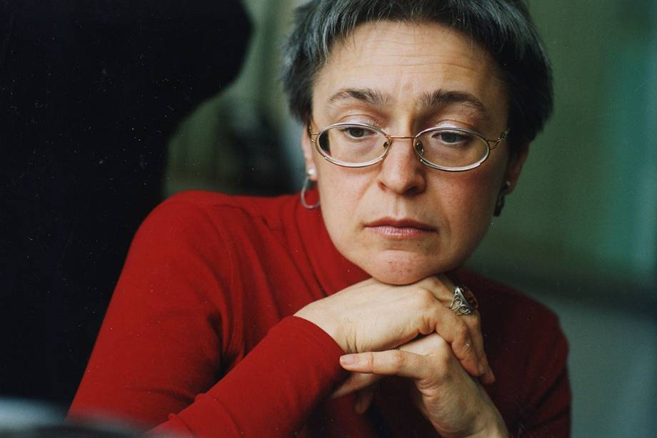 Jornalista russa Anna Politkovskaya