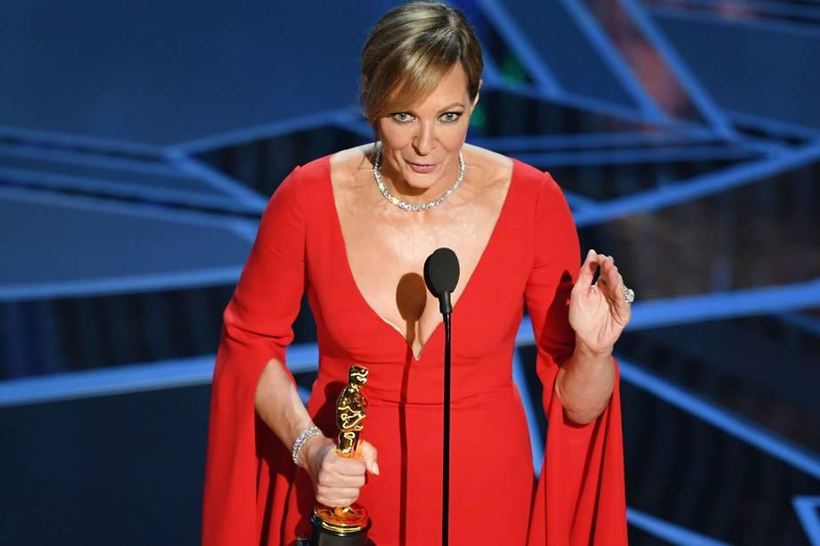Allison Janney ganha o Oscar de atriz coadjuvante por 'Eu, Tonya'