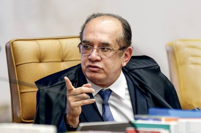 """""""Vou recomendar ao ministro que feche seu escritório."""" – Gilmar Mendes, ao insinuar que o colega fez algo errado — e, de quebra, dando razão ao que Barroso dissera"""