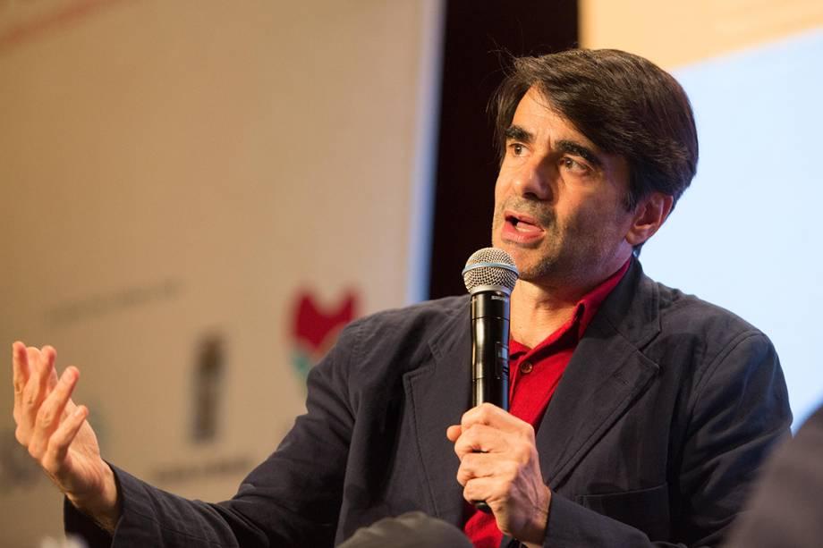 O cineasta brasileiro João Moreira Salles