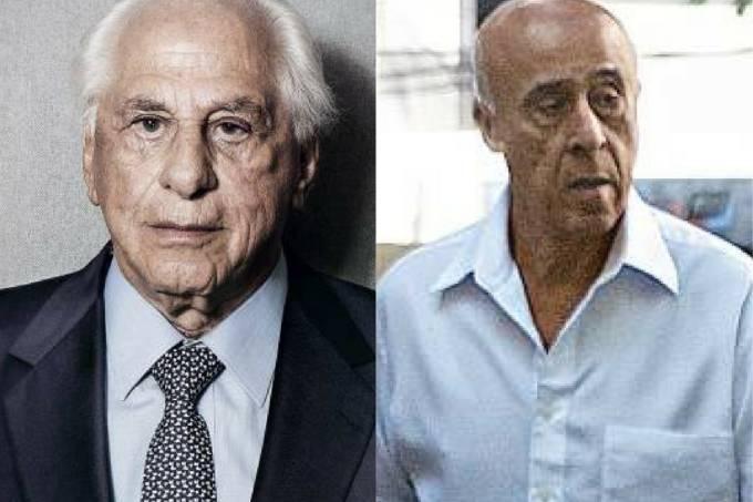 O ex-assessor de Temer José Yunes e coronel João Batista de Lima Filha, o coronel Lima