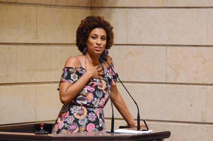 A vereadora Marielle Franco (PSOL-RJ)