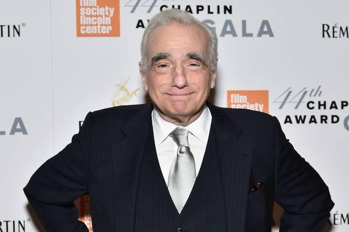 O diretor americano Martin Scorsese