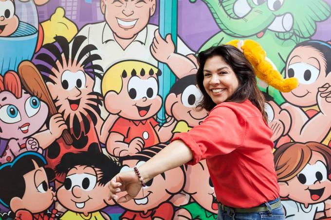 Mônica Sousa, filha do cartunista Mauricio de Sousa