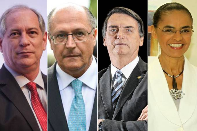 Candidatos à presidência