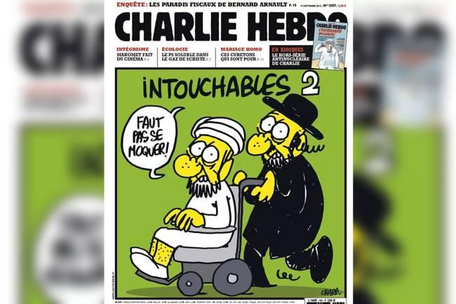 Capa original Charlie Hebdo